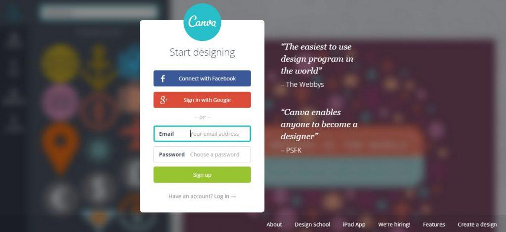 Canva - useful tool