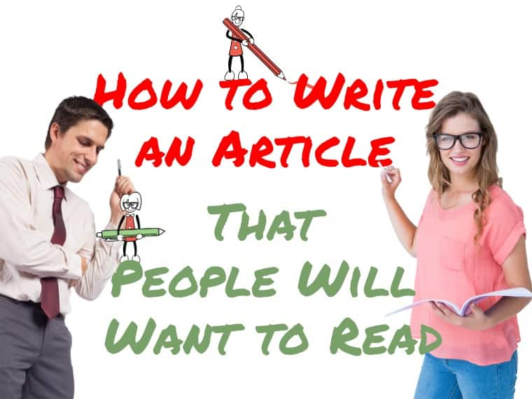 This is how to write an article