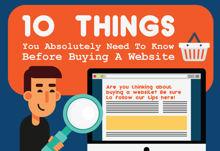 10 Things You Absolutely Need To Know About Buying A Website
