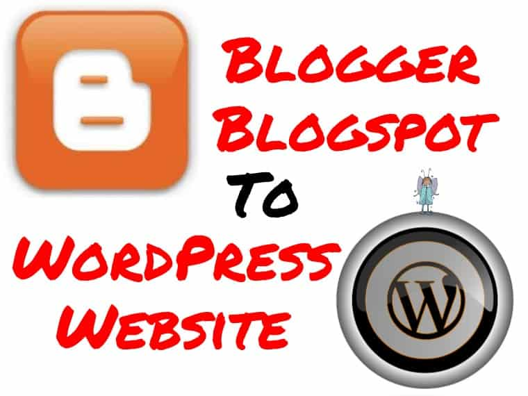 Convert Blogger to WordPress