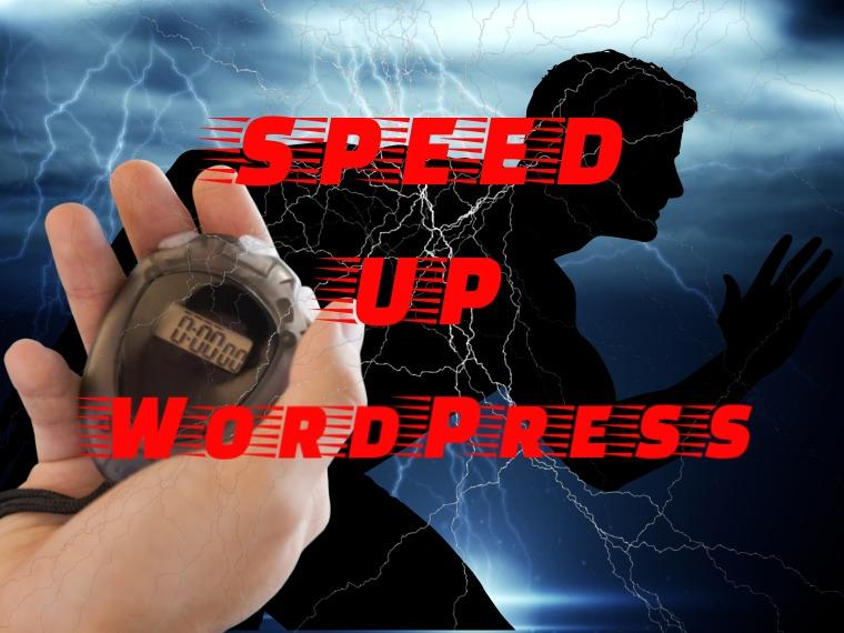 Speed up WordPress