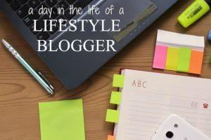 starting a lifestyle blog