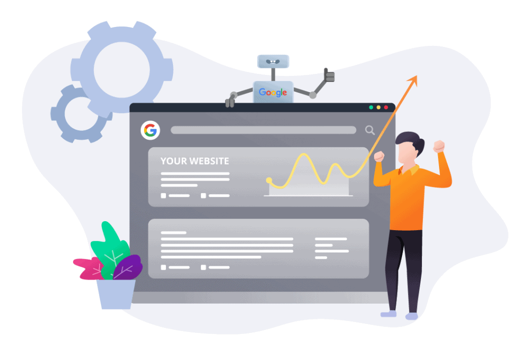 take website to google