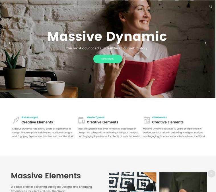 Massive DynamicWordPress Theme