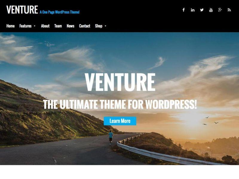 Venture LiteWordPress Theme