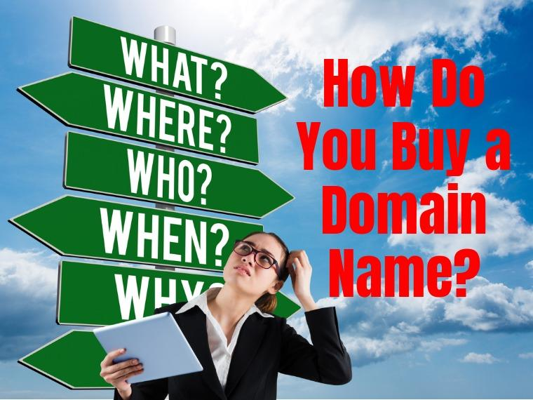 How to buy a domain name for blogs