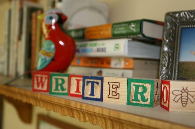 writer alphabet bricks
