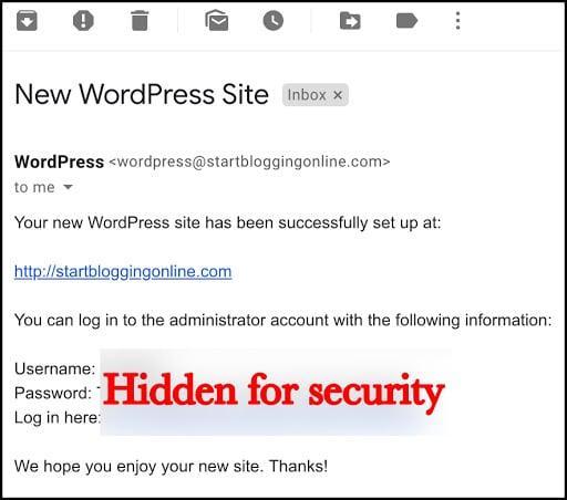 wordpress how to make domain private