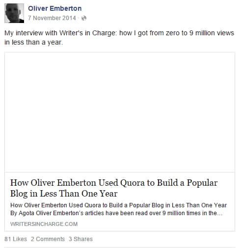 Oliver Emberton 9 million views