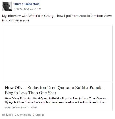 Oliver Emberton 9 million views