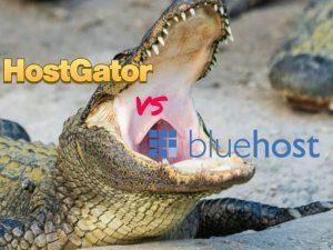 Compare BlueHost vs HostGator