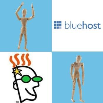 GoDaddy vs BlueHost comparison winner