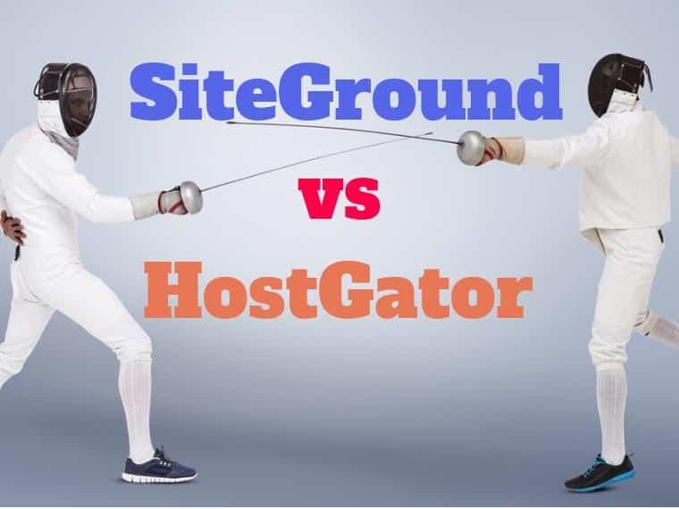 SiteGround vs HostGator