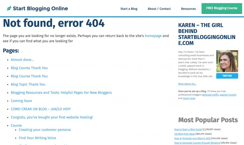 404 page example