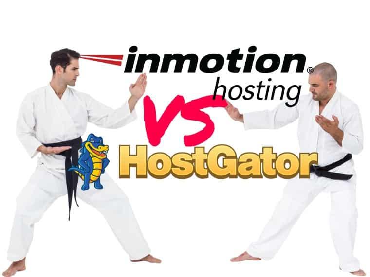 HostGator vs InMotion hosting