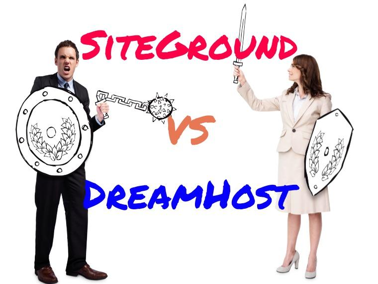 SiteGround vs DreamHost