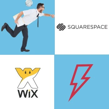 Squarespace vs Wix's speed