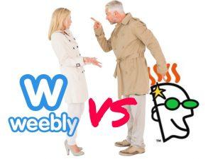 Weebly vs GoDaddy