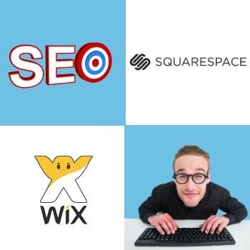 Wix Squarespace SEO