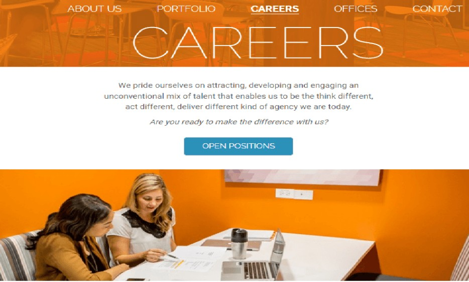 career page example