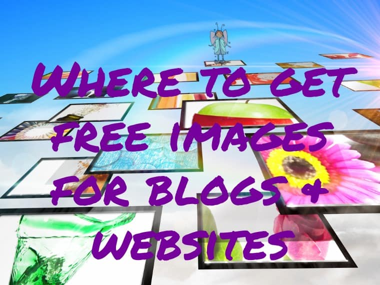 Royalty free images for blogs and websites