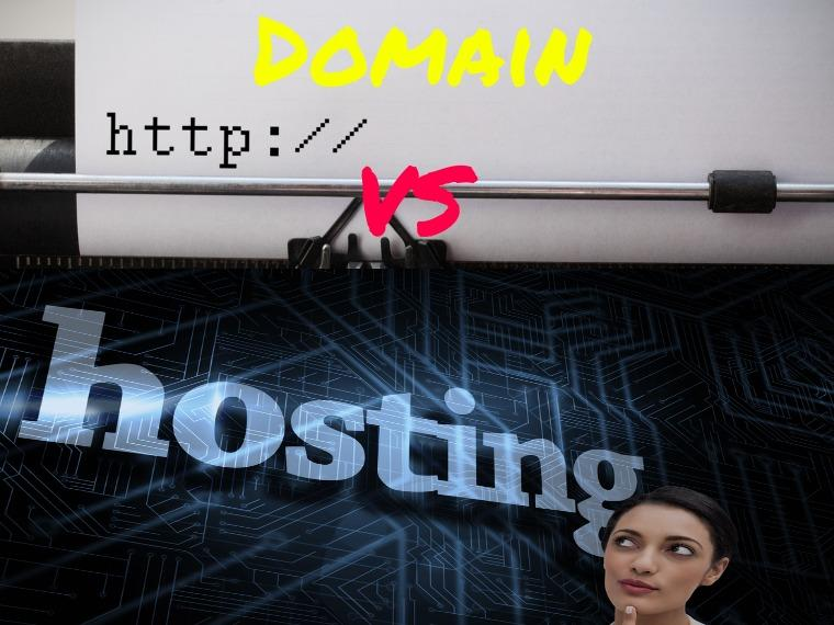 Web hosting vs domain registration