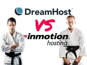 InMotion vs DreamHost hosting