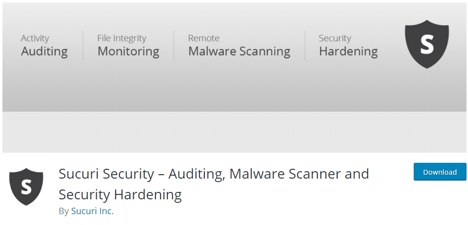 Essential plugins for security