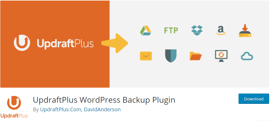 Essential WordPress plugins for sites backup