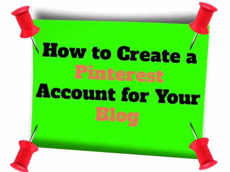 Create a Pinterest account