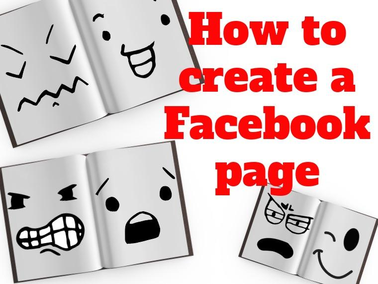Facebook page for a blog