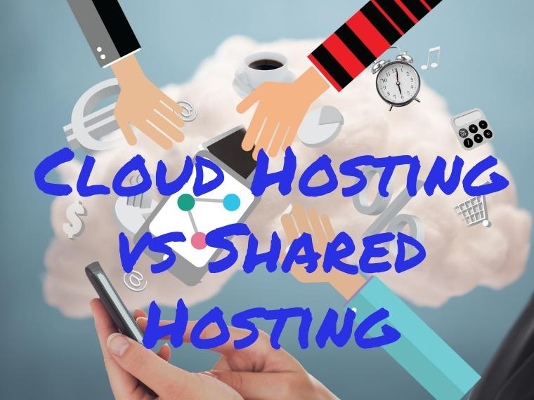 Cloud hosting vs shared hosting differences