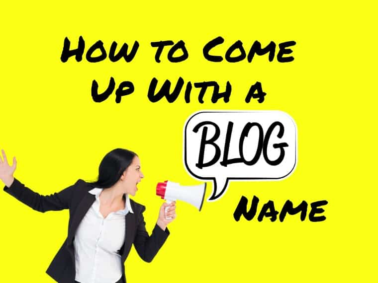 How to come up with a blog name