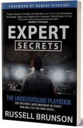 Expert Secrets affiliate marketing book