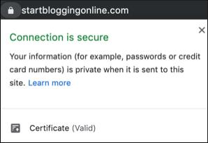 How to start a blog with a free SSL certificate