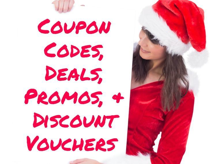 Coupon Codes, Deals, Promos & Discount Vouchers