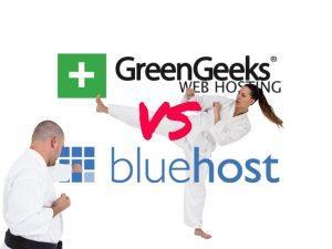 GreenGeeks vs BlueHost