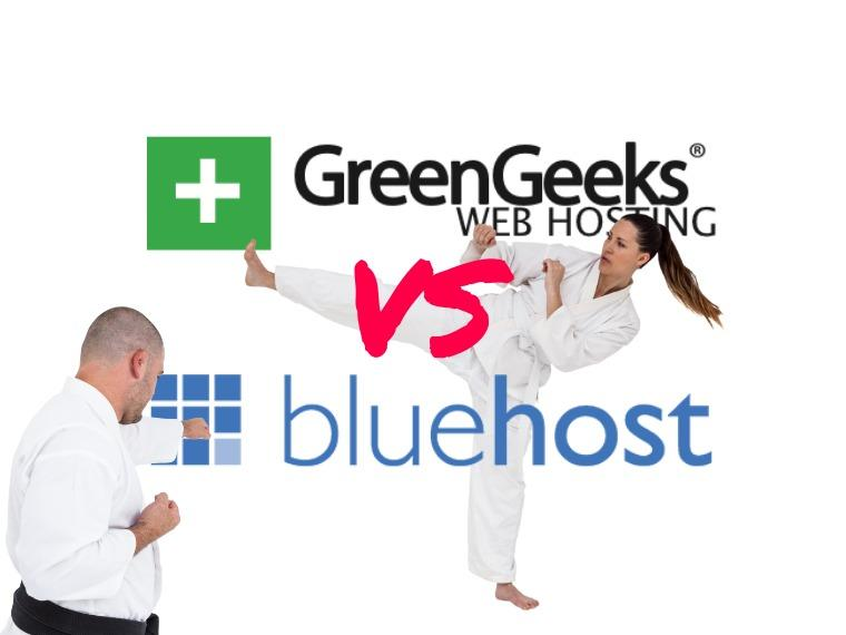 GreenGeeks vs BlueHost