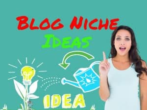 Blog niche ideas