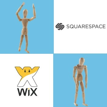 Wix vs Squarespace comparison winner